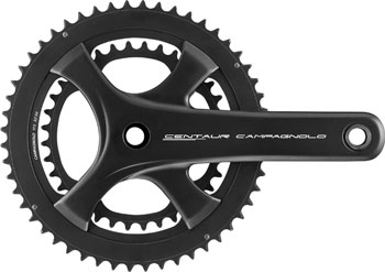 Campagnolo Centaur Crankset - 170mm, 11-Speed, 52/36t, 112/146 Asymmetric BCD, Campagnolo Ultra-Torque Spindle Interface, Black