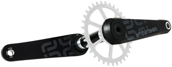 e*thirteen by The Hive TRS Race Carbon Crankset - 170mm, Direct Mount,  P3 Connect Spindle Interface, Black