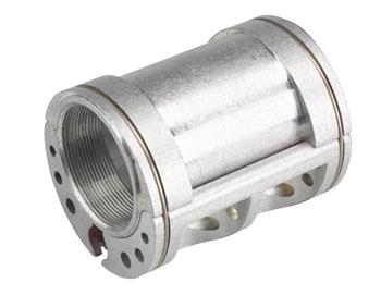 Problem Solvers Bushnell Eccentric Bottom Bracket - Lightweight, 68mm x 54mm Silver