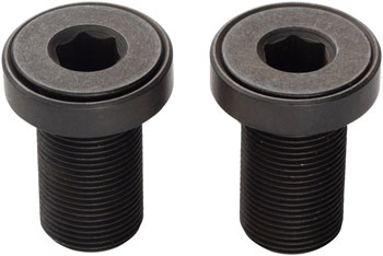 Profile Racing Flush Mount Crank Bolts for Solid Spindle w//Washers