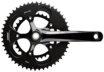 NEW SRAM Force//Rival//Apex 50T 10 Speed 110mm Black Chainring use GXP Road Ring