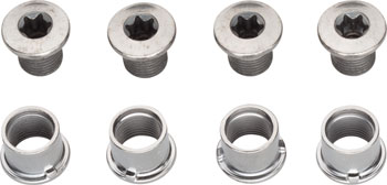 Shimano SLX FC-M7000-3 Middle and Outer Chainring Bolts Set of 8