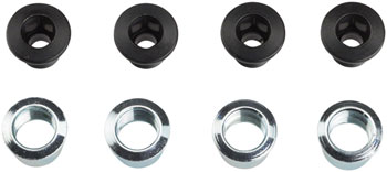 Shimano XTR FC-M980 Middle Chainring Bolt and Cap Set of 8