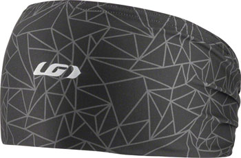 Garneau Method Women's Headband: Black/Charcoal One Size