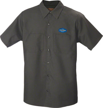 Park Tool MS-1.2 Mechanic Shirt LG Charcoal