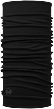 Buff Midweight Merino Wool Multifunctional Headwear: Black, One Size