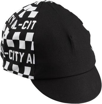 Pace Sportswear Traditional Cycling Cap Black//World Champion Stripe MD//LG