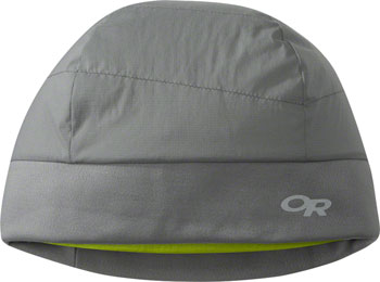 Outdoor Research Ascendant Beanie: Pewter/Lemongrass, SM/MD