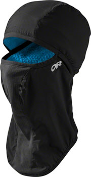 Outdoor Research Ascendant Balaclava: Black/Tahoe, LG/XL