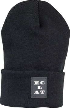 Eclat Currency Beanie: Black One Size