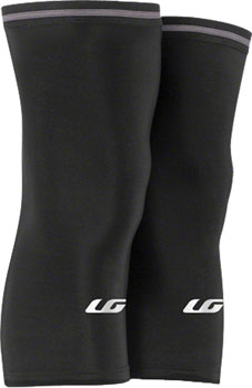 Garneau Knee Warmer 2: Pair~ Black~ XL