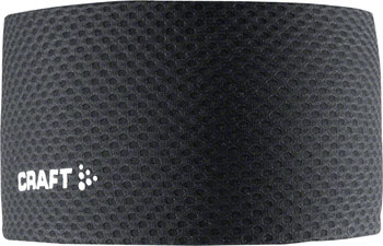 Craft Cool Mesh Superlight Headband: Black LG/XL
