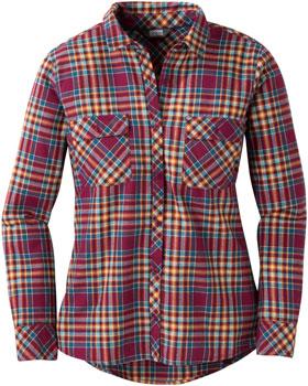 Outdoor Research Ceres II Women's Flannel Shirt: Garnet, LG