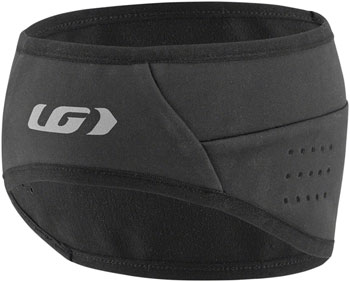 Garneau Wind Headband: Black One Size