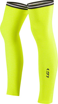 Garneau Leg Warmers 2: Bright Yellow LG