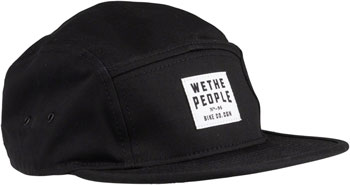 We The People WTP-CGN 5 Panel Cap - Black, One Size