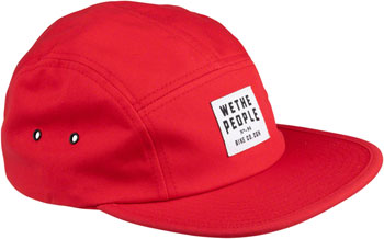 We The People WTP-CGN 5 Panel Cap - Burgundy, One Size
