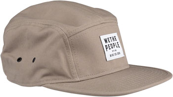 We The People WTP-CGN 5 Panel Cap - Beige, One Size