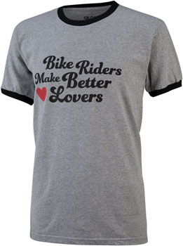 All-City Bike Riders Make Better Lovers T-Shirt: Gray MD