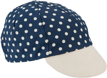 All-City Get Action Cycling Cap: Blue/Cream, One Size