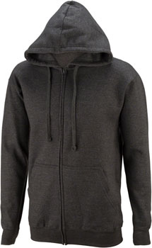 All-City California Fade 2.0 Hoodie: Charcoal Gray/Green Fade SM