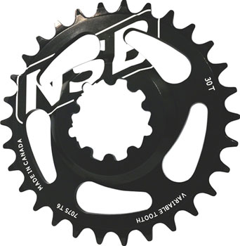 North Shore Billet Direct Mount Variable Tooth Chainring: 26T, for SRAM X9/X0 Cranks with GXP Spindles