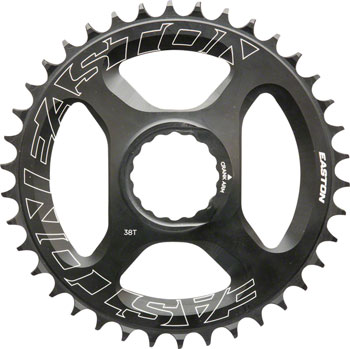 Easton Direct Mount 38 Tooth Chainring, Black