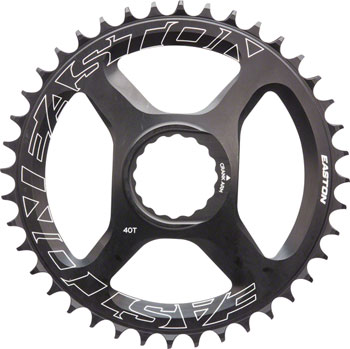 Easton  Direct Mount 40 Tooth Chainring, Black