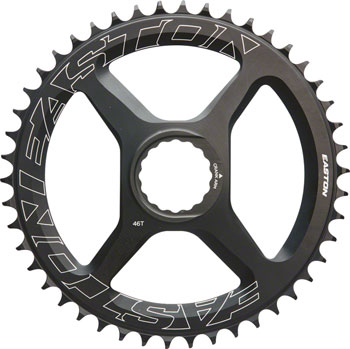 Easton Direct Mount 46 Tooth Chainring, Black