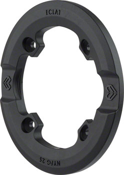 Eclat Replacement Guard for AK Guard Sprocket, Nylon/Fiberglass Black