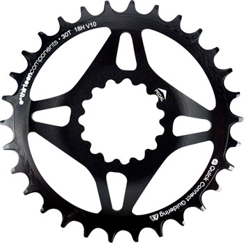 e*thirteen Direct Mount M Profile 10/11/12 speed, Guide Ring Boost Chainline 30t Narrow Wide, Black