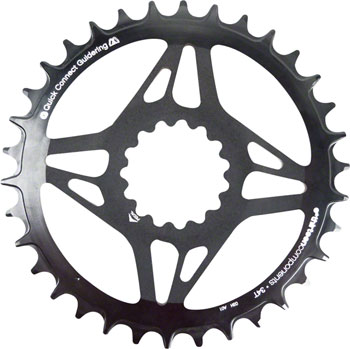 e*thirteen Direct Mount M Profile 10/11/12 speed, Guide Ring Boost Chainline 36t Narrow Wide, Black
