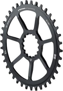 e*thirteen Direct Mount SL Guide Ring, 8/9/10/11/12 speed, 38t Narrow Wide, Black