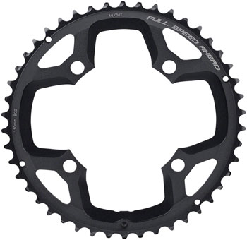 104mm BCD FSA 4-Bolt DH Pro MTB Chainring Black 42T