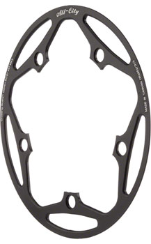 All-City Cross Wizard Chainring Guard 44t x 130mm Black