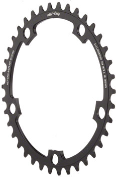 All-City Cross Ring 38t x 130mm Black