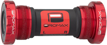Promax EX-1 Alloy external Sealed Bottom Bracket 68/73mm Red