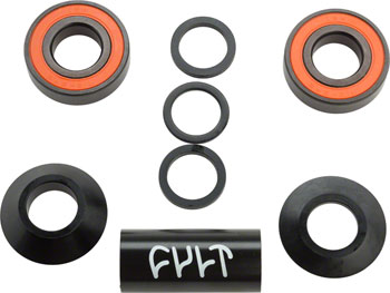 Cult Mid Bottom Bracket 22mm Black