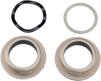 FSA MegaExo Stainless Bottom Bracket Adapter for 386EVO Frames