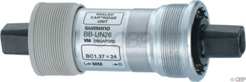 Shimano UN26 73 x 110mm Square Taper English Bottom Bracket