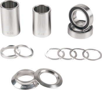 Eclat Mid Bottom Bracket Kit 22mm High Polished