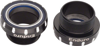 Enduro XD-15 Corsa Bottom Bracket BSA Threaded for 30mm Spindle, Ceramic Angular Contact Bearings