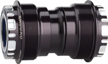 Enduro T47 Bottom Bracket: XD-15 Corsa Ceramic Bearings 24mm, Black