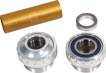 Profile Racing Outboard Bearing Bottom Bracket Silver (no Spindle)