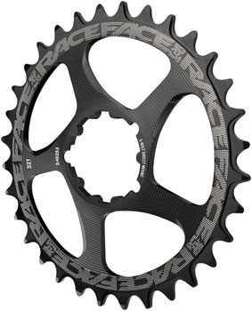 RaceFace Narrow Wide Chainring: Direct Mount 3-Bolt Compatible, 26t, Black