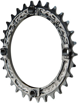 64mm BCD 28t RaceFace Turbine 11-Speed Chainring Black