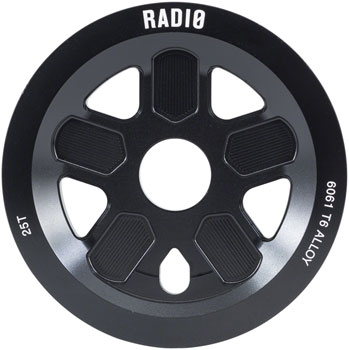 Radio 47 Leon Hoppe Signature Guard Sprocket 25T 24mm/22mm/19mm Black
