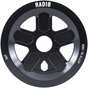 Radio 47 Leon Hoppe Signature Guard Sprocket 28t 24mm/22mm/19mm Black