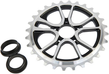 Eclat RS Bolt Drive Sprocket 25T 24mm/22mm/19mm Silver/Black