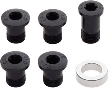 Campagnolo Ultra-Torque/Over-Torque Chainring Bolts 2011-2014, Black